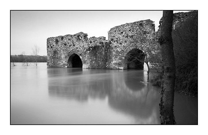 photo de la Loire, photo de Champtoceaux, bords de Loire, Pont, Photos de la Loire, Nantes, Oudon, Champtoceaux, Erik Brin, Photographe, Nantes, La Loire, Noir et Blanc