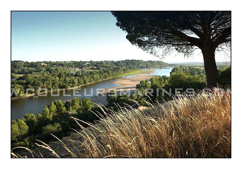 Photo de la Loire entre Oudon et Champtoceaux. Pays d'Ancenis. Erik Brin, photographe à Champtoceaux.