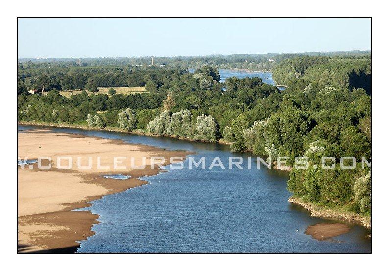 Photo de la Loire, Oudon, Ancenis, Photos de la Loire entre Oudon et Ancenis, Erik Brin, Photographe à Champtoceaux, Photos, La Loire, Loire Atlantique, Paysage, Nature