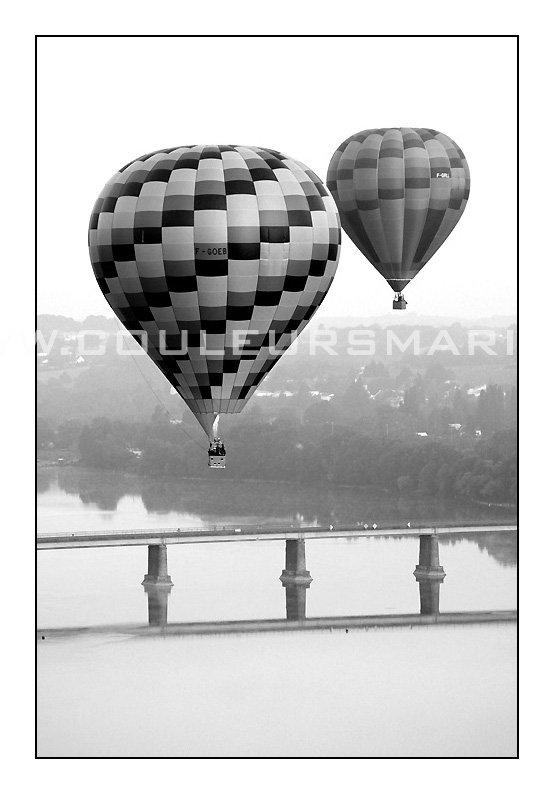 Photos, Vol en Mongolfieres sur la Loire
