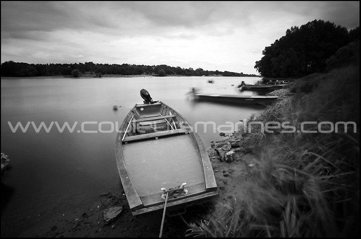 Photos de la Loire, Noir & Blanc, Photos, champtoceaux, Oudon, bords de Loire, Barques, La Loire, Erik Brin, Photographe, Champtoceaux