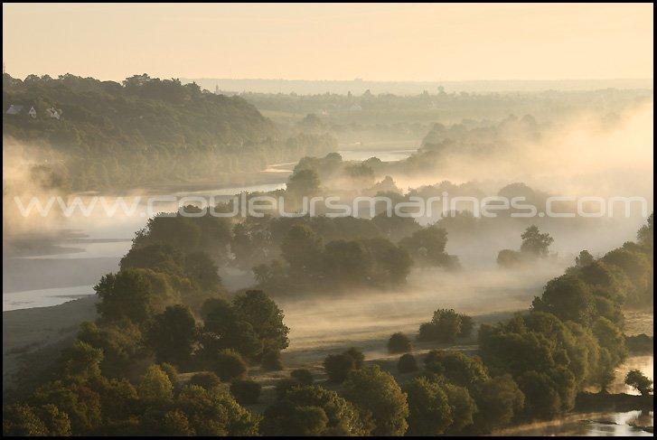 photo,la loire,brume,brouillard,photos de la loire,champtoceaux, oudon, lever du soleil, lever du jour, erik brin, photographe, la loire