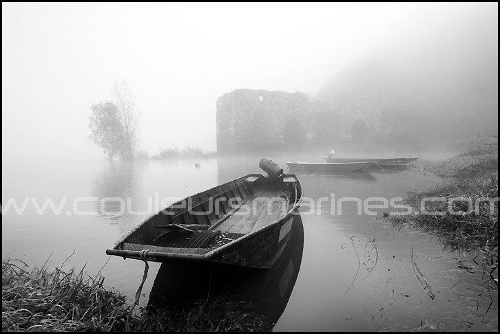 Photos de la Loire, La Loire en noir & blanc, Photos de la Loire dans le brouillard, La Loire en hiver, Brume sur la Loire, Brouillard, Bords de Loire
