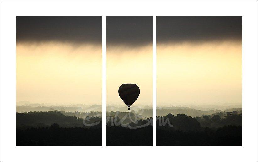 Photo, montgolfière, la Loire, photos de la Loire, vol de montgolfière sur la Loire, paysage de loire, Erik Brin, photographe de Loire, Champtoceaux, Oudon, Nantes, photos, montgolfières