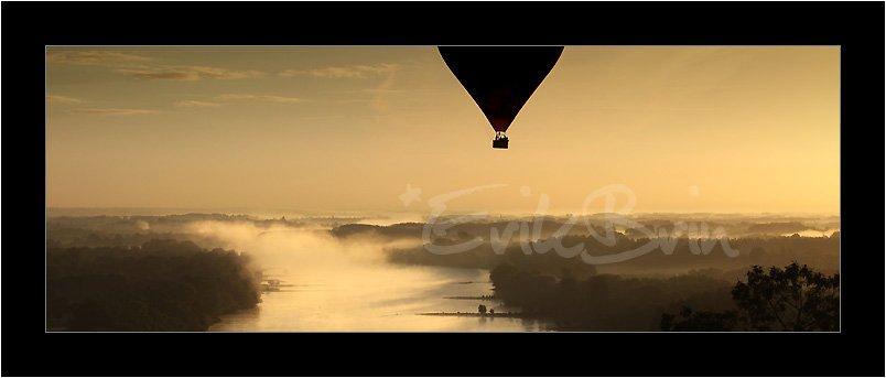 Photos, montgolfières, la Loire, paysages, vol de montgolfière sur la Loire, Erik Brin, photographe de Loire, paysage, Champtoceaux, Oudon, Nantes, la Loire, photos
