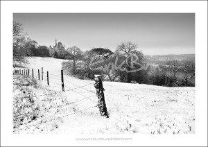 La vallée de la Loire sous la neige !